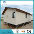 pre packed sandwich panel house free design prfabricated building rock wool prefabricated luxury villa
