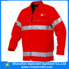 wholesale clothing reflective fashion red hi vis safety coat