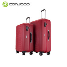 2017 Hot Sale Promotional 3 Pcs Luggage Travel Set Bag Abs+pc Trolley Suitcase With High Quality