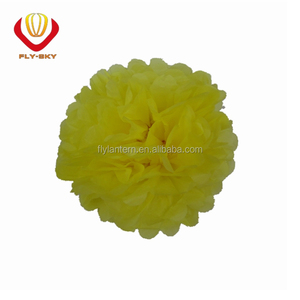 Wedding tissue paper pompoms paper flower for decoration occasion