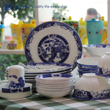 chinese pattern dinnerware With Blue and White Chinese Dinnerware patterned