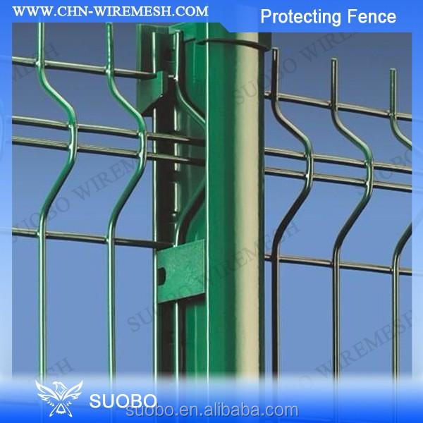 Q195 iron PVC coated garden fence factory