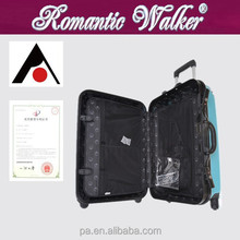 Suitcase Type and PC, ABS luggage travel bags, luggage set