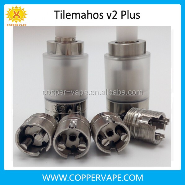 One set tilemahos v2 Plus with 2pcs PC or SS tank cool ax1 rda rta philippines in stock !!