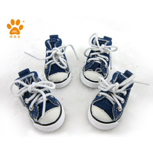 JML High Quality Canvas Pet Dog Shoes for Rabbits Pet Toy Rubber Shoes