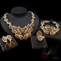 Fashion accessories suppliers china Luxury jewelry set Lady necklace