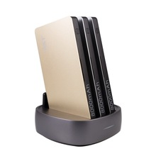 multi cell phone restaurant quick charger 3-Port multifunctional charing station