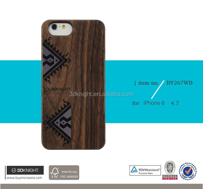 Hot selling wood phone case , with newest type wood case for iphone6/iphone5