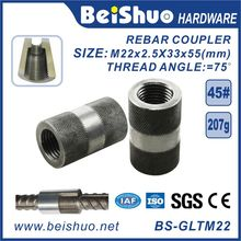 Building Material Carbon Steel Rebar Splicing Coupler Sleeve