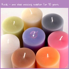 ZT00470 wholesale custom color red perfume wedding decorative cheap candle
