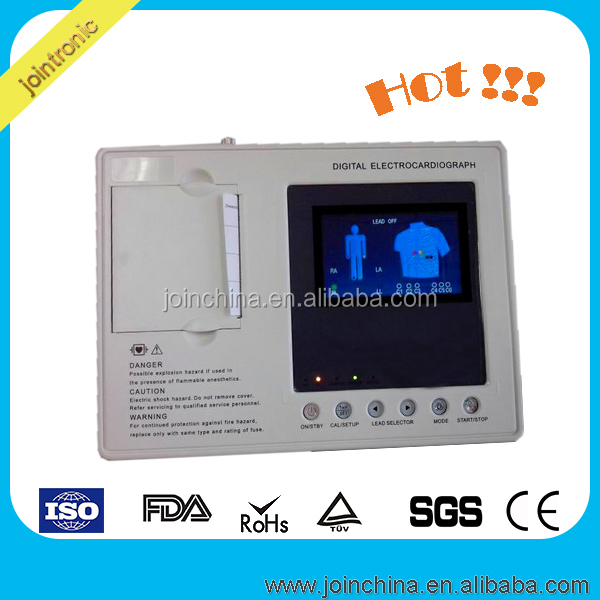 CE Approved 3 Channel ECG / EKG Holter monitor China Top Medical digital pacemaker manufacturer