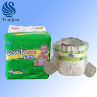 Magic tape breathable baby diapers oem in China
