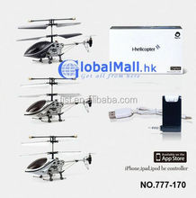 For iPhone iPod iPad iTouch RC I-helicopter 3.5CH New RC Gyro Helicopter
