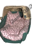 Cozy Crate: Padded Blanket & Pillow Set