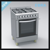 4 Burners gas cooker with oven spare parts