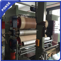 PU Leather Roll Embossing Machine