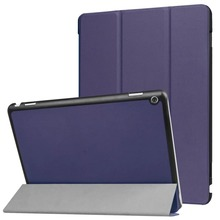 Premium kickstand case for huawei medipad m3 lite case leather
