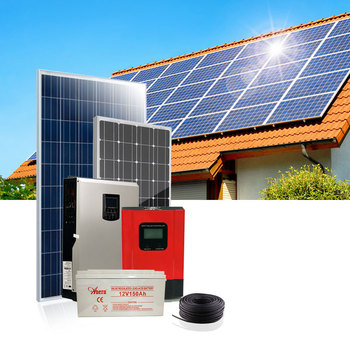 Anern 3KW off-grid home solar power energy system