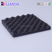 Customized egg crate shape packing foam,white u-shaped packaging foam,egg packing foam