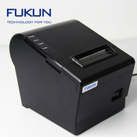 Fast printing speed Terminal Receipt Printer USB with black and white style