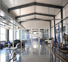 Practical Design Q235B Q345B Steel Structure Auto Repair Workshop