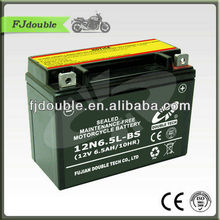 High Quality 12N6.5L-BS 12V6.5Ah Storage Battery For Motorcycle