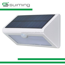 SUIMING 2.5W Voice-activated rechargeable sensor light solar radiation wall light