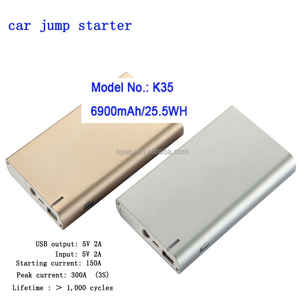 High quality Portable Jump starter Mini Size Moveable Power automobiles motorcycles
