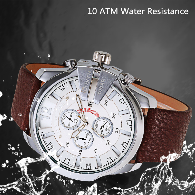 Zinc Alloy Case Manufacturers High water-resistance western mens wrist watches