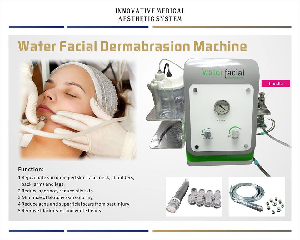 Hot sale water diamond dermabrasion equipment for beauty spa and clinic