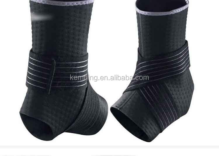 Outdoor traning Sports football boots ankle straps protector neoprene ankle sleeve brace shoes