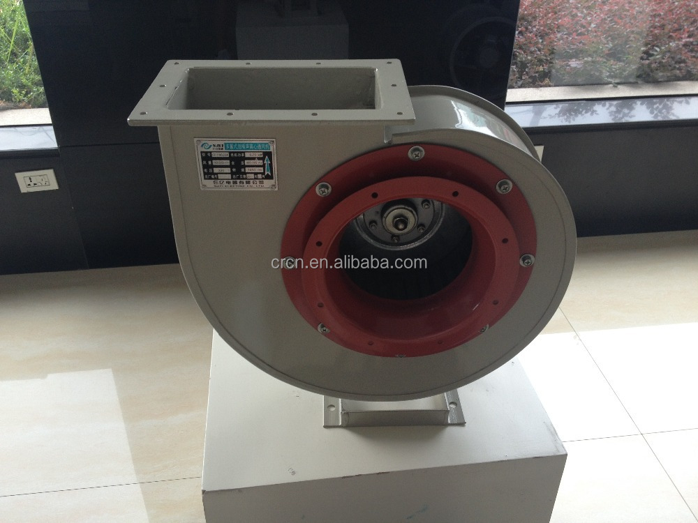 C6-46 belt drive high temperature industrial dust exhausting centrifugal blower fan