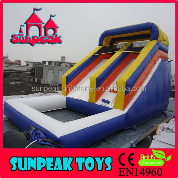 WL-1848 Inflatable Pool Slide,Cheap Inflatable Big Water Slides For Sale,Kids Giant Inflatable Water Slide For Adult