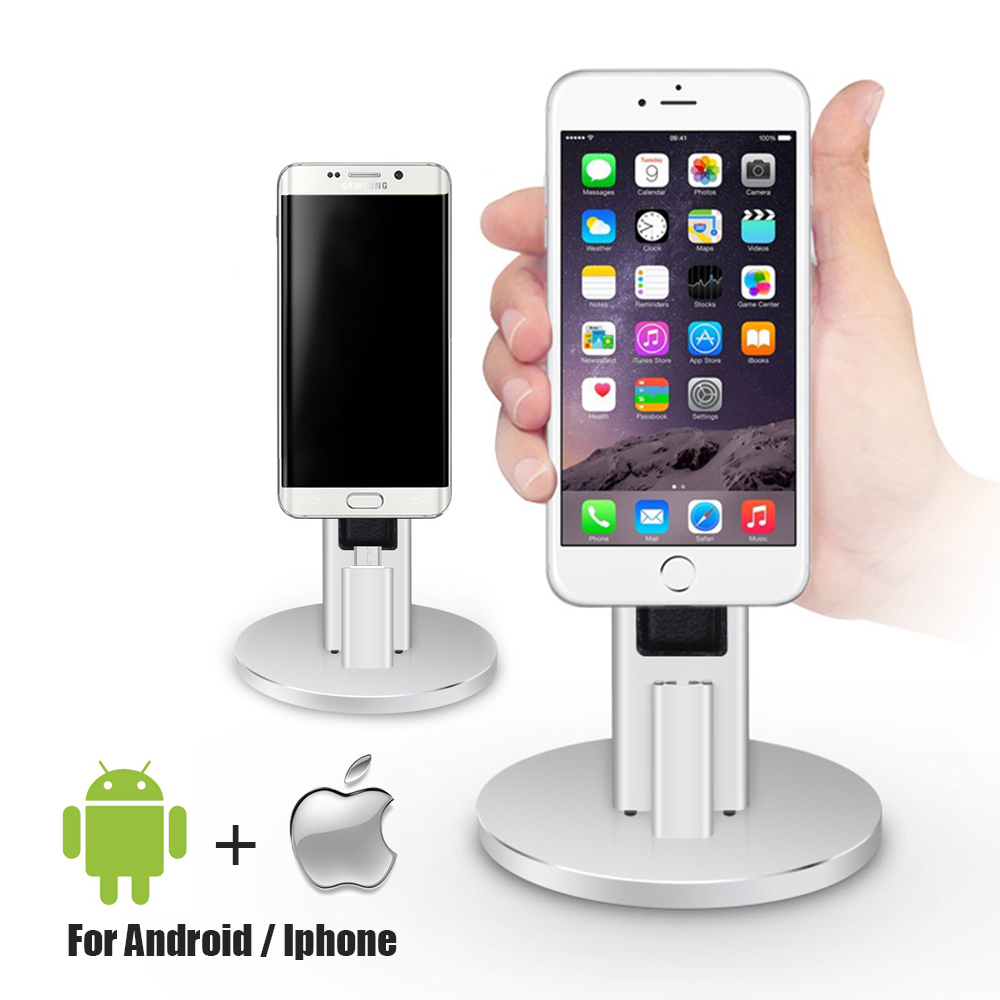 NetDot Adjustable Desktop Mobile Phone Display Stand/holder for Android phone and iPhone