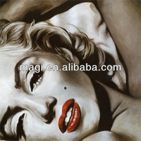 Marilyn Monroe sexy canvas art painting for living room