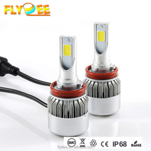 Manufacturer supply c6 led headlight conversion kit h4 h7 h11 h3 h1 9005 light bulb