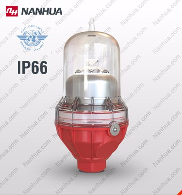 LS810 aviation obstacle light for telecom tower warning light 100CD