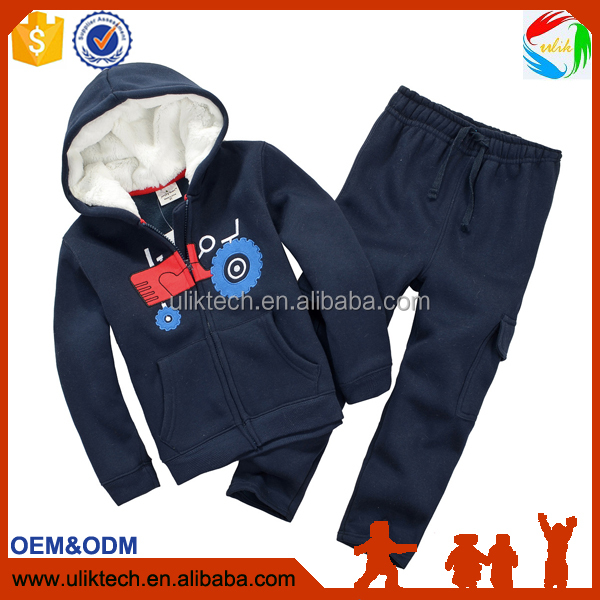 2016 New design kid clothes for 2 pieces child clothes wholesale autumn sport baby clothing (CS01)