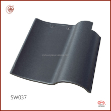 Newly Chinese Factory Durable Gray Ceramic Roof Tiles