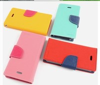 High Quality Italy Leather Flip Case Cover For Samsung Galaxy Note3 Neo