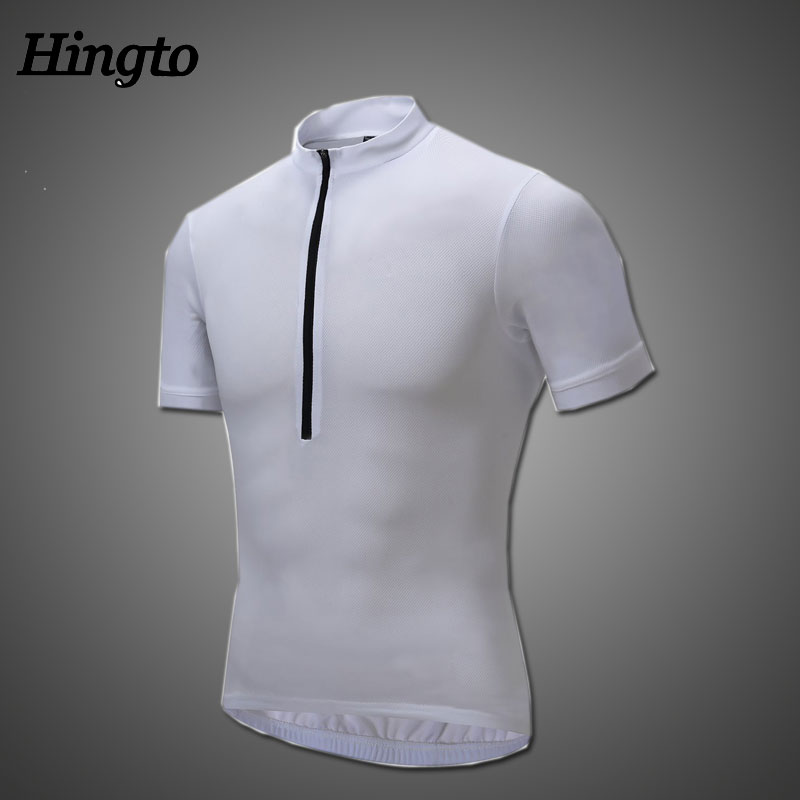 Hot sell Fluorescent color bicycle jersey cycling clothing men with cheapest price