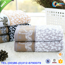 High quality sex leopard grain egyptian cotton hand towels discount