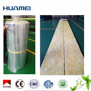 Other Heat Insulation Materials Type Density 10kg/m3 Glass Wool Batts