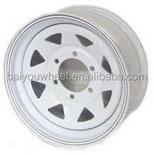Dexstar 16 in. 6 on 5.5 Lug Painted Trailer Wheel 16*6'' PCD 6*139.7mm 3050LBS
