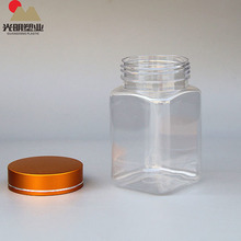 China Supplier Plastic Pharmaceutical Pill Square Jar