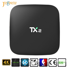 Hot Selling TX2 RK3229 2GB RAM 16GB ROM Android 6.0 Smart Tv Box