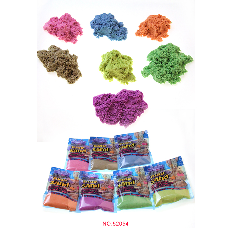100 Grams Safty Colored OEM Alive Play Magic Modelling Sand