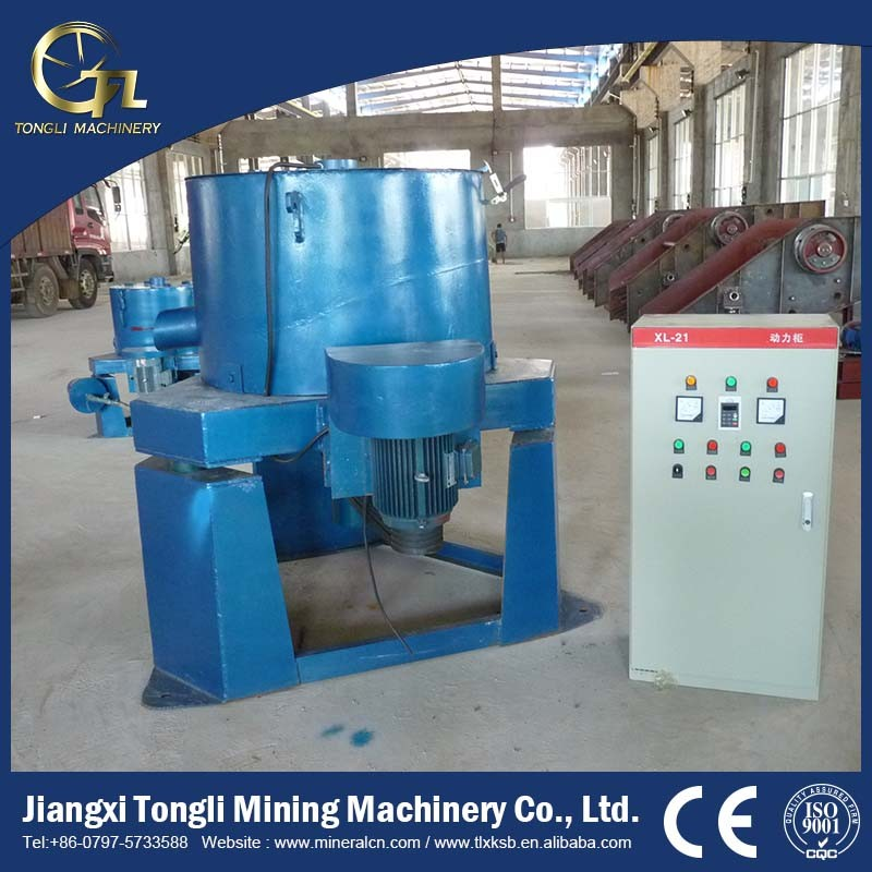 Gold Centrifugal Concentrator , Mineral Separator for Gold Dust