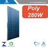 280w poly solar panel for solar energy system
