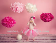 Romantic Giant High Quality Tissue Paper Pom Poms